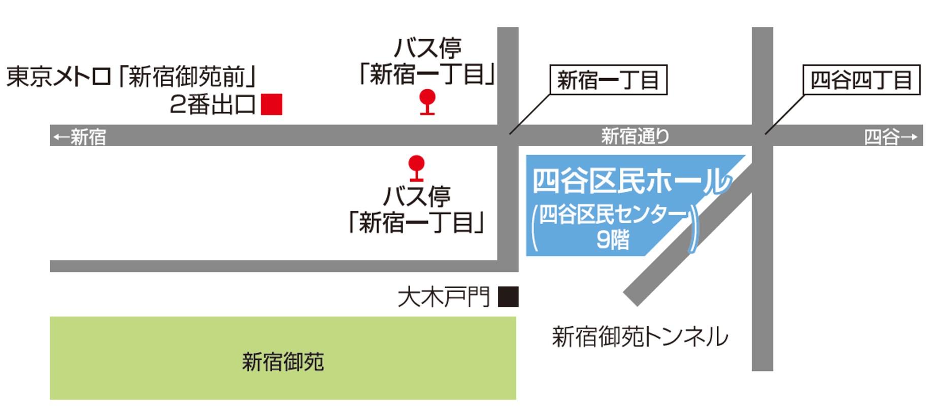Yotsuya Map